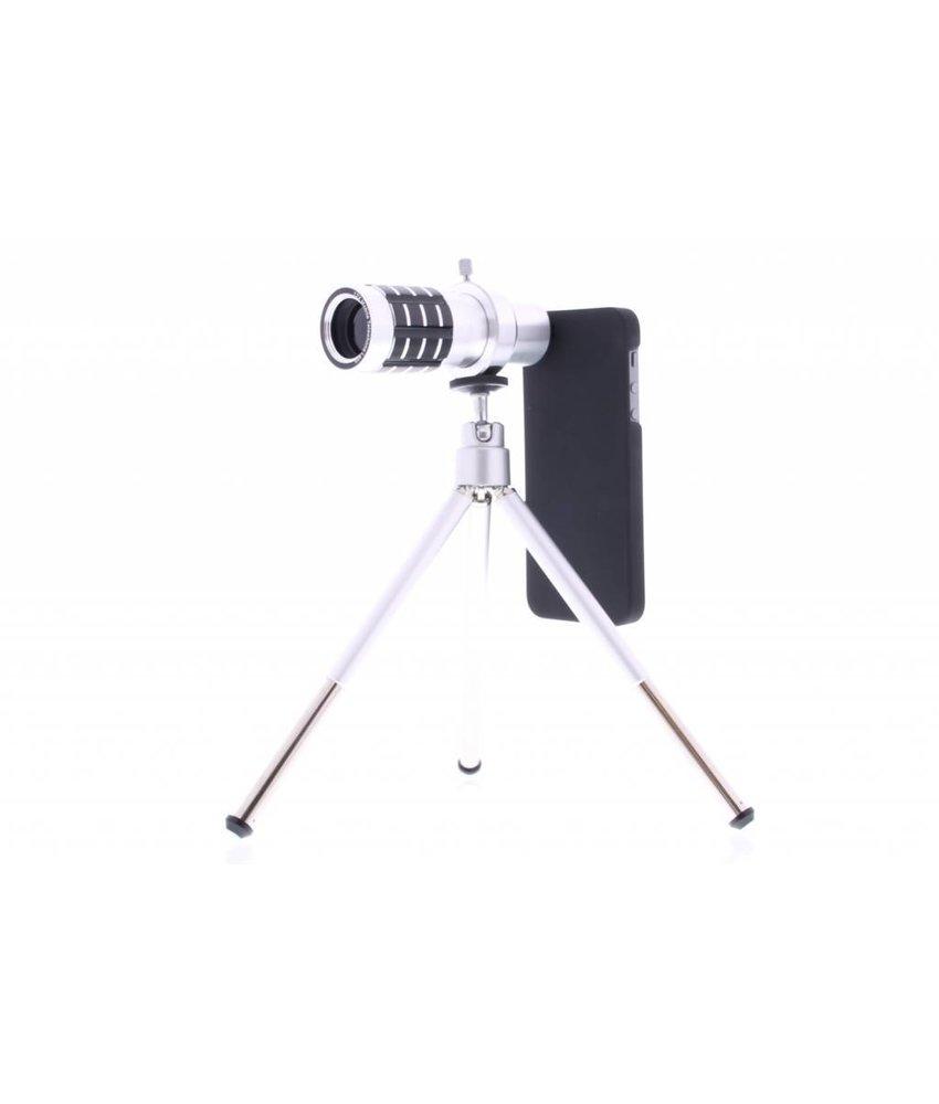 Telelens 12x Zoom met tripod iPhone 5 / 5s / SE