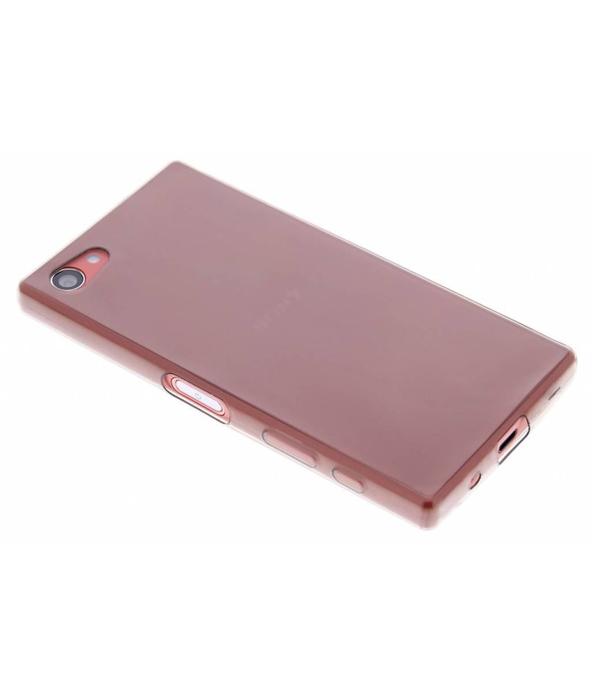 Ultra Thin Transparant Backcover Sony Xperia Z5 Compact