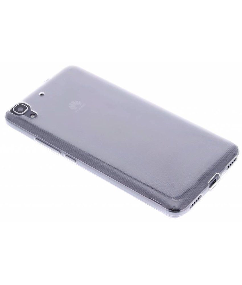 Ultra Thin Transparant Backcover Huawei Y6