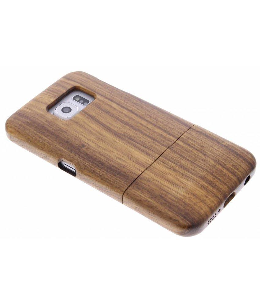Echt Houten Backcover Samsung Galaxy S6