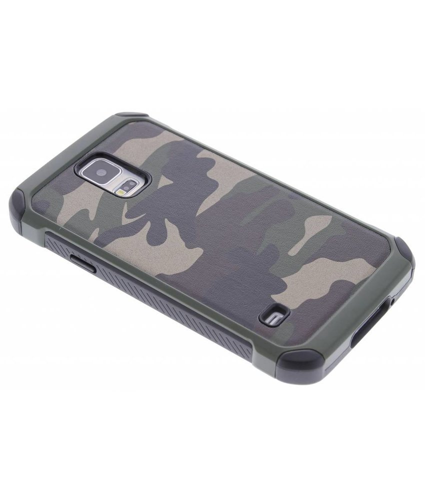 Army Defender Backcover Samsung Galaxy S5 (Plus) / Neo