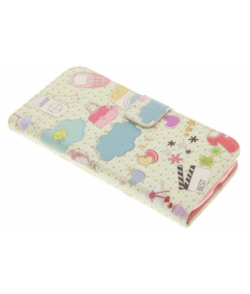 Design Softcase Booktype Samsung Galaxy S3 / Neo