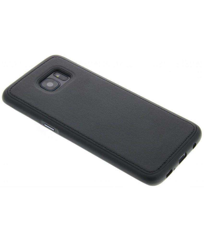 Lederen Backcover Samsung Galaxy S7 Edge