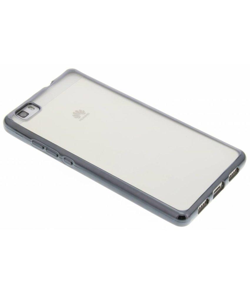 Backcover met metallic rand Huawei P8 Lite