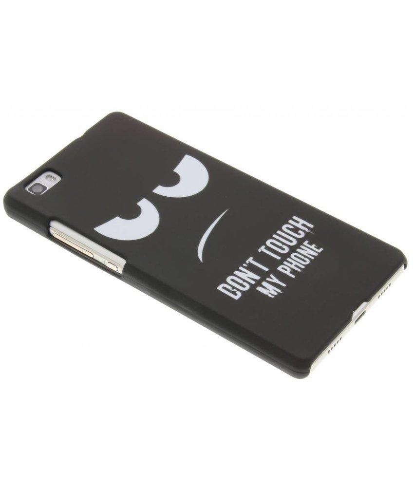 Design Hardcase Backcover Huawei P8 Lite