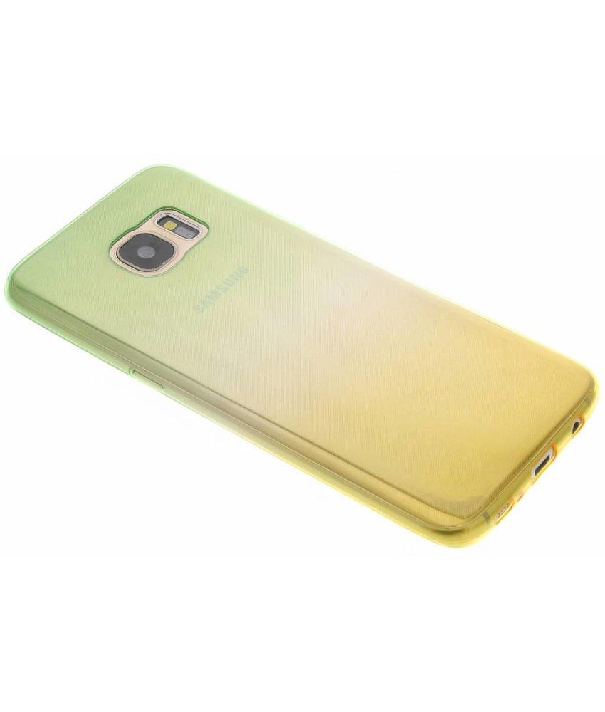 Tweekleurige Backcover Samsung Galaxy S7 Edge