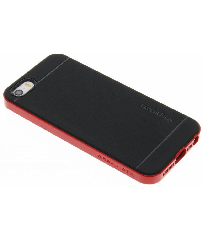 Spigen Neo Hybrid Backcover iPhone SE / 5 / 5s