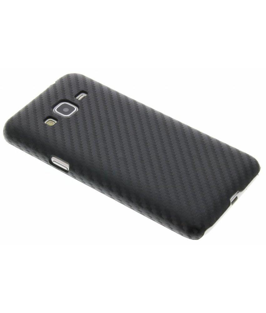 Carbon Hardcase Backcover Samsung Galaxy J3 / J3 (2016)