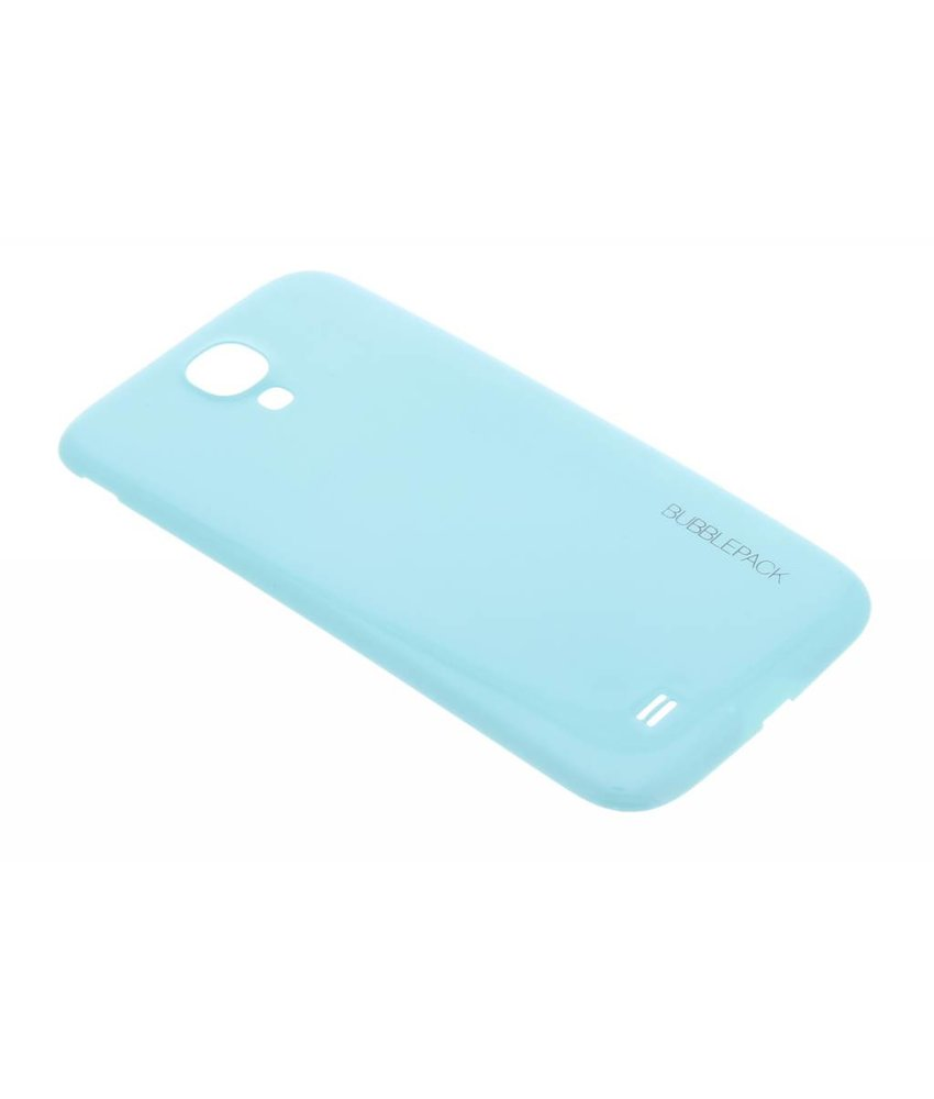 Turquoise bubblepack batterij cover Samsung Galaxy S4