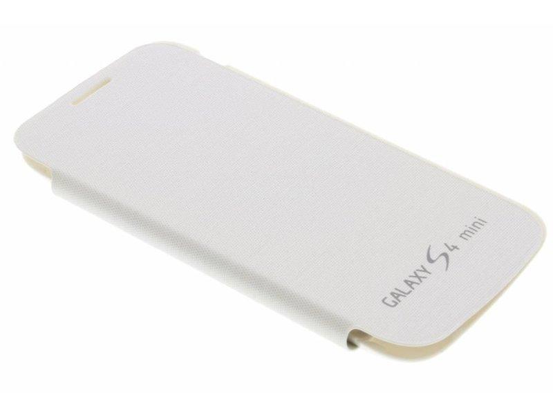 Samsung Galaxy S4 Mini hoesje - Witte flipcover voor de