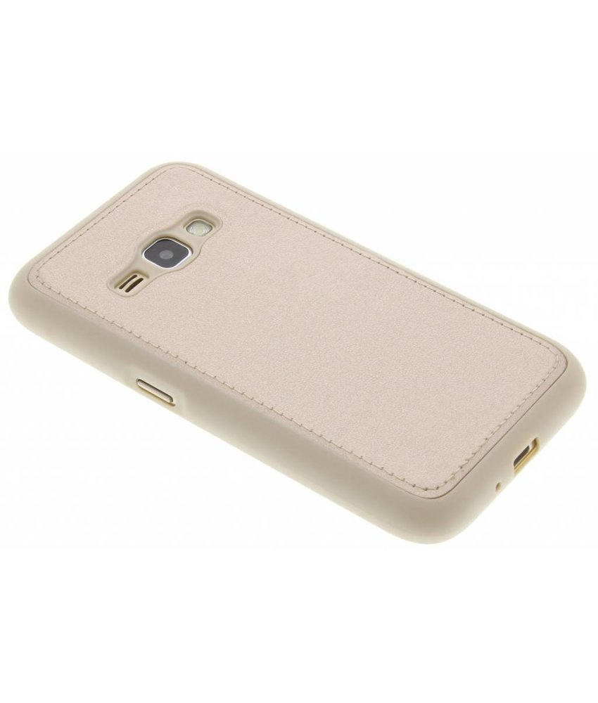 Lederen Backcover Samsung Galaxy J1 (2016)