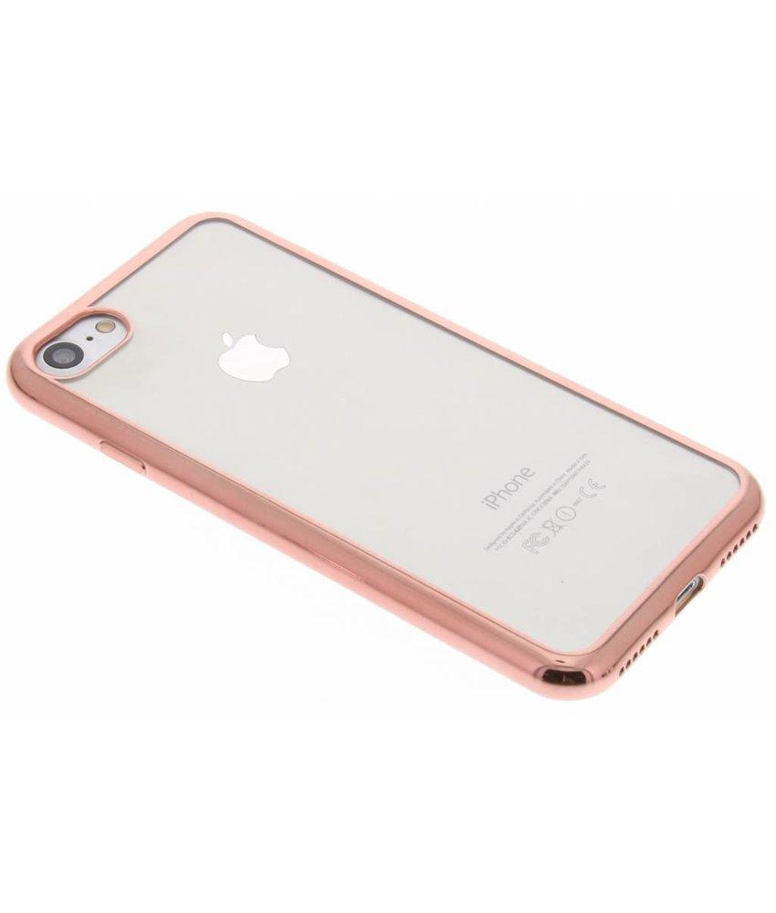 Backcover met metallic rand iPhone 8 / 7