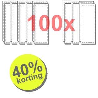 WTW 100 paar filters voor Renovent Excellent 300/400