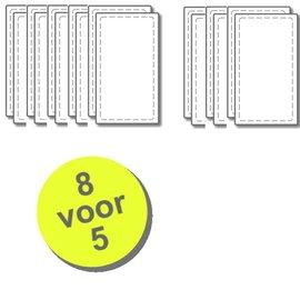 WTW 8 paar filters voor Renovent 250/325 M/L