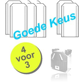 WTW Filters WHR 90/91 voor Zehnder JE StorkAir | 4 paar