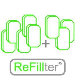 8 sets HRU-1 filters