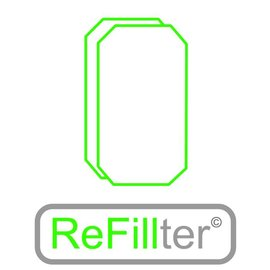 ReFillter© 1 set HRU-2/3 filters