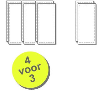 WTW 4 paar filters voor Velu VHR-275/300/400