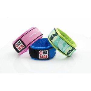 Icetags SOS armbandje met telefoonnummer
