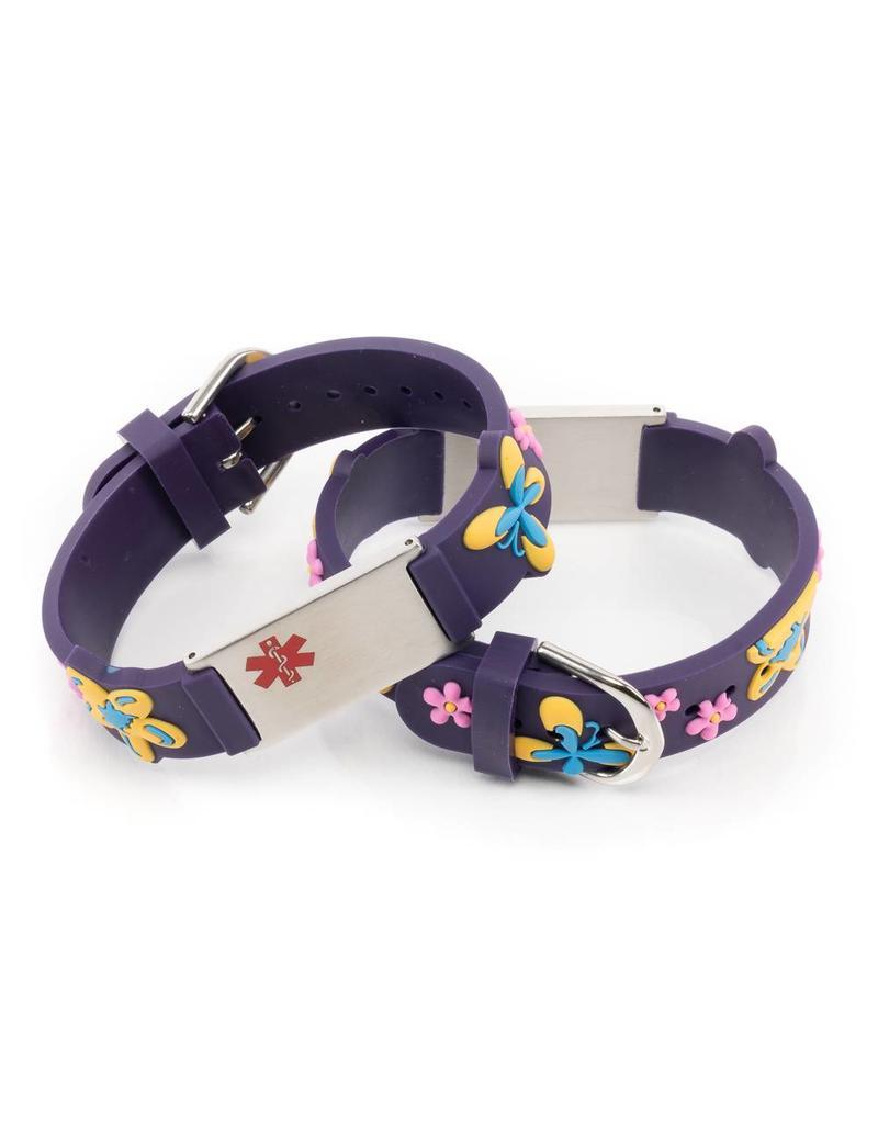 Medical name plate bracelet for allergies, asthma, epilepsy etc.