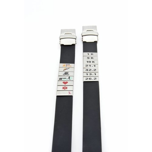 Icetags Medical ID wristband White