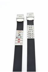 Medische armband Zwart
