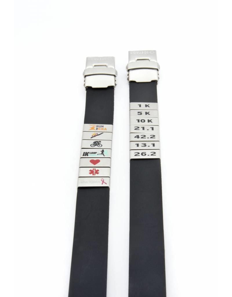Medical ID bracelet Black