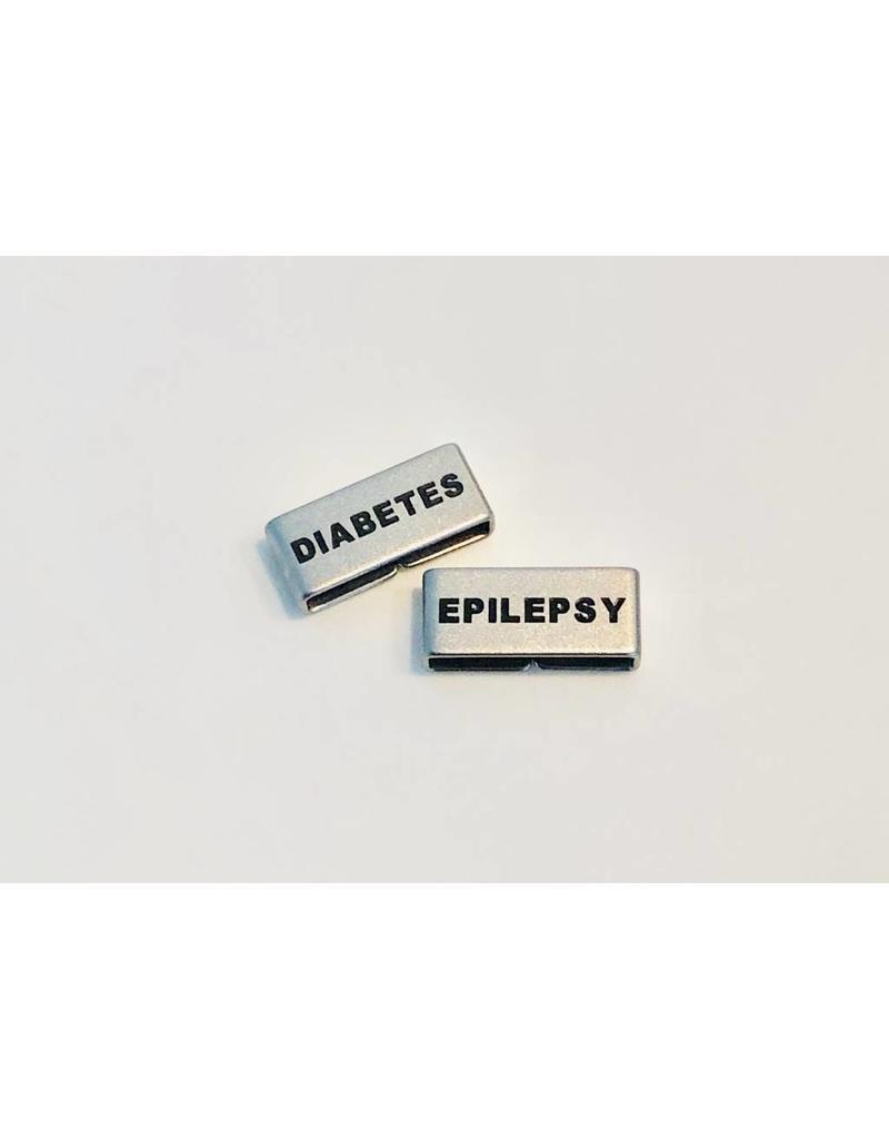 Allergy identification bracelets Blue