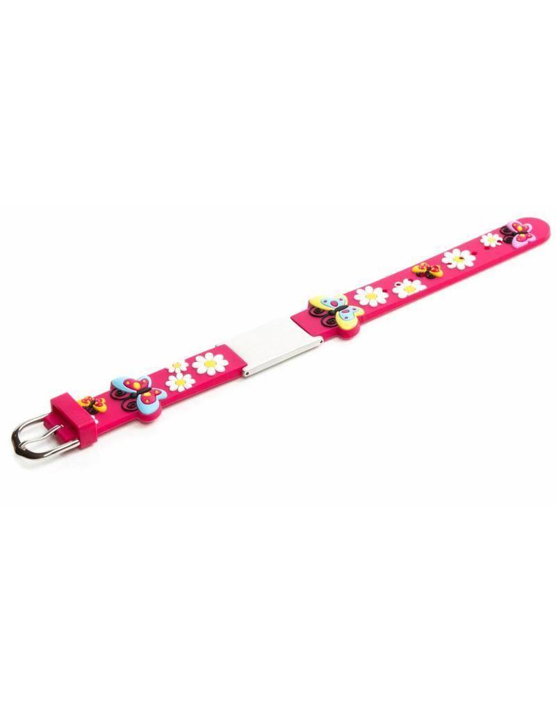 Icetags Emergency bracelet kids Pink