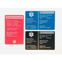 Medical ICE wallet card