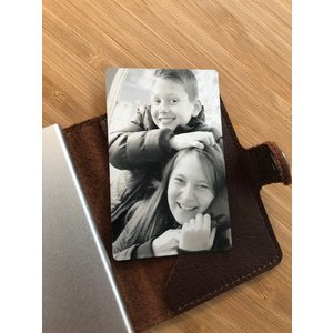 Icetags Card with picture engraved