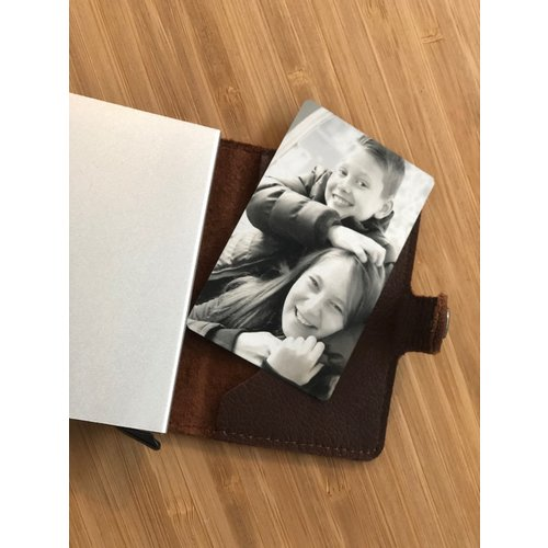 Icetags Card engraved with picture