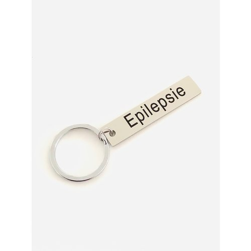 Icetags Medical keychain engraved  with text