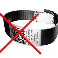 QR code armband