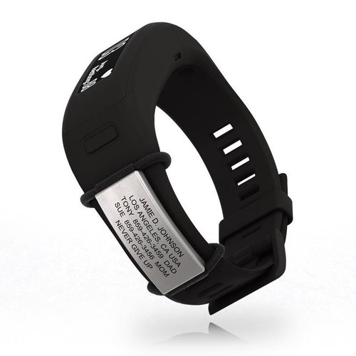 Icetags Medical ID tag to attach to your Sport watch