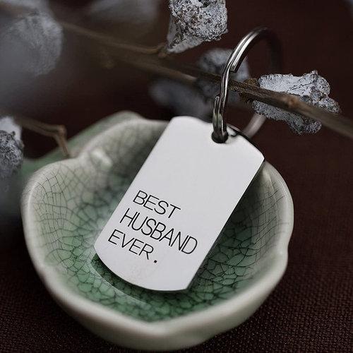 Best husband key chain