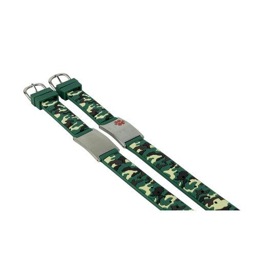Icetags Medical allergy camouflage bracelet
