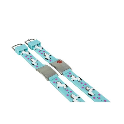 Icetags Unicorn Medical allergy bracelet