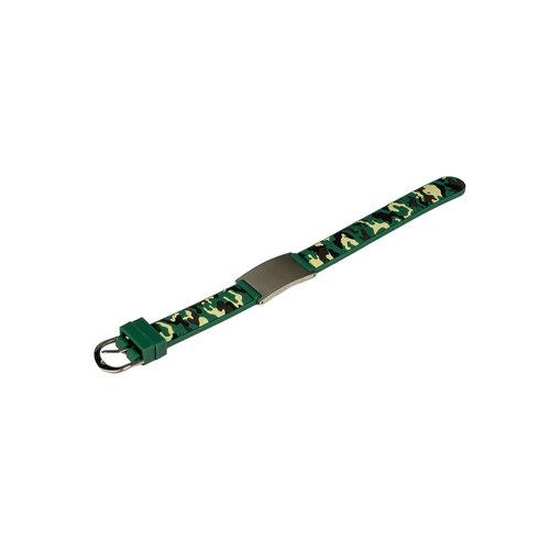 Icetags Camouflage emergency bracelet