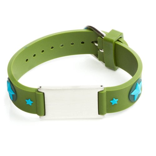 Icetags Child safety ID bracelet Stars