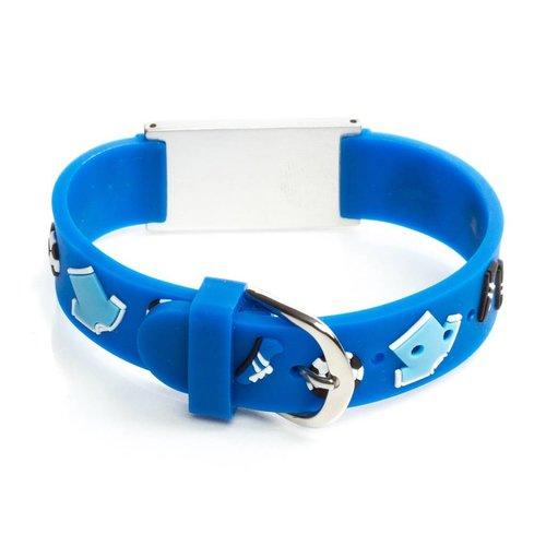 Icetags Blue Soccer