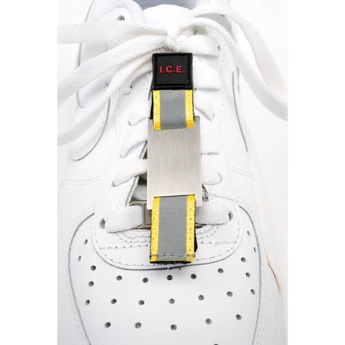 Shoe ID tag yellow