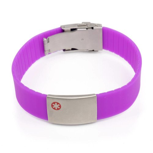 Medical bracelet purple