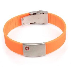 Icetags Medische armband oranje