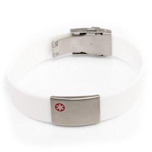 Medical bracelet White
