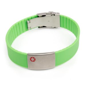 Icetags Sport medical ID bracelets Green