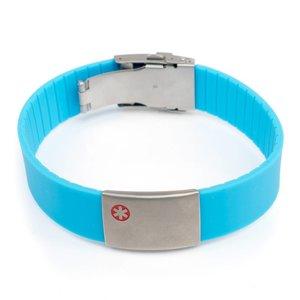 Icetags Allergie armbanden Licht blauw