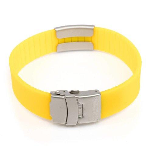 Icetags Medical ICE bracelet yellow