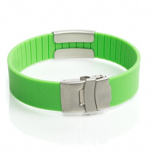 Icetags allergie armband Groen