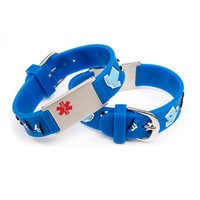 Medical ID for kids bracelet soccer